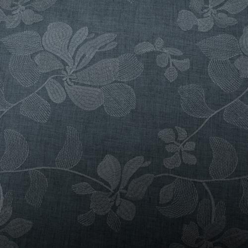 Brodyr Bomulls Polyester Mörkgrå 135cm