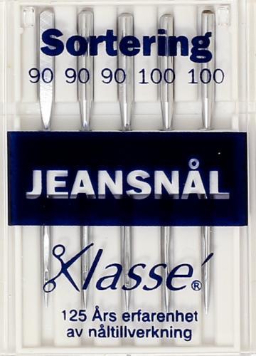 Symaskinsnålar Jeans 100