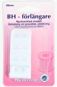 BH-FÖRLÄNGARE VIT 28 MM