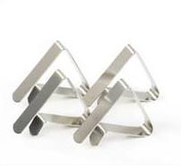 Bordsklämmor 4-pack metall