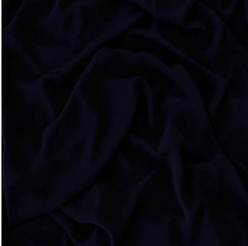 Chiffong svart 150 cm