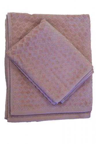 Diamond Frotte Badhandduk  rosa150*90