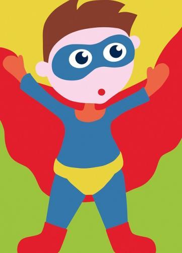 DMC Kids  13X18 cm Super hero