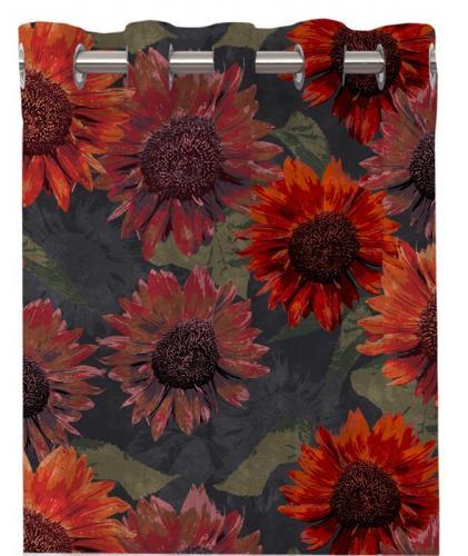 Sunflower Härliga gardiner med öljetter