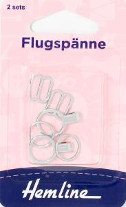 FLUGSPÄNNE, 2 SET