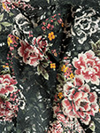 modetyg spets mv  blommönster