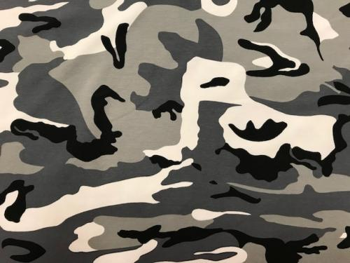 Jogging kamouflage grön svart