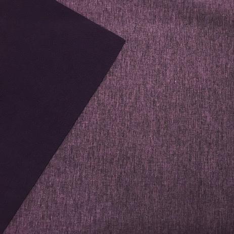 Softshell Mellerad Lila 148cm 100% Polyester