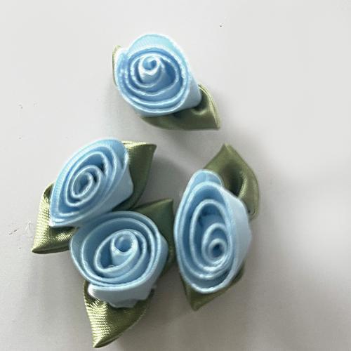 Dekorationsrosor ljusblå 1,5cm