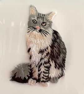 Brodyrmärke Katt