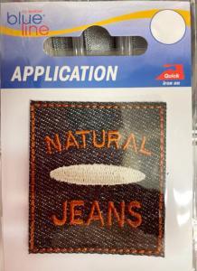 Brodyrmärke Natural Jeans