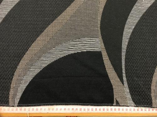 Möbeltyg brunt m mönster beige