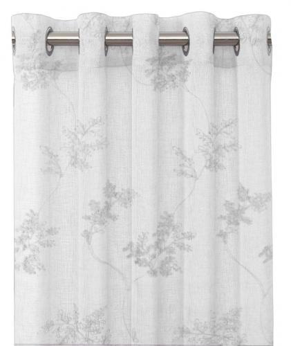 Jannike Eyelet curtain vit