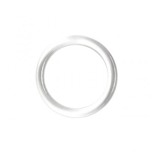 Ring plast 12mm klar