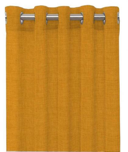 Gardinlängder med öljett , Linoso  1-p Gold