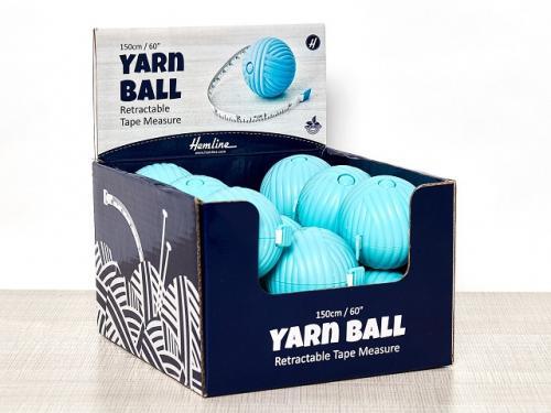 """Rullmåttband """"yarn ball"""""""