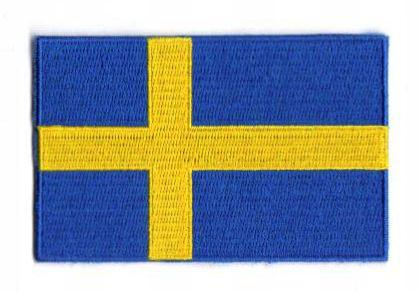 "BRODYRMÄRKE, ""SVENSK FLAGGA"""