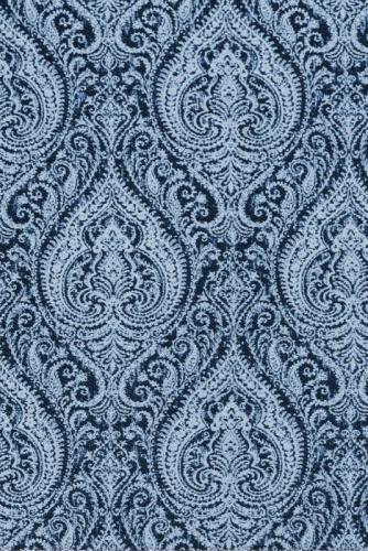 möbeltyg, Paisleymönstrat, blå