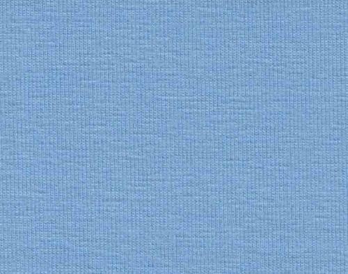 Enfärgad trikå 44 ljusblå