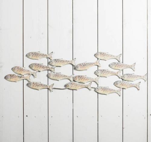 fiskstim på vägg