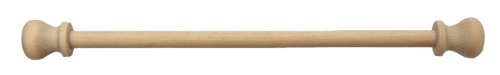 hängare m knopp, trä, till broderi 18 cm