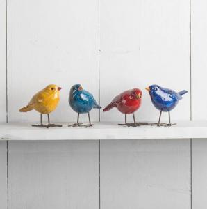 Fåglar, i flera färger