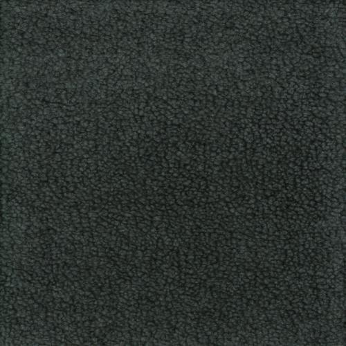 Teddy mörkgrå polyester päls