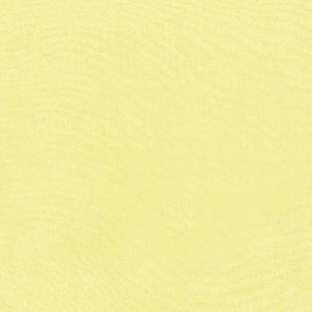 Enfärgad trikå Vaniljgul 36