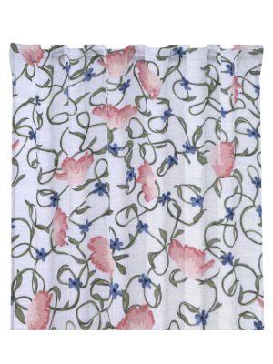 gardinlängd Virvel rosa multiband