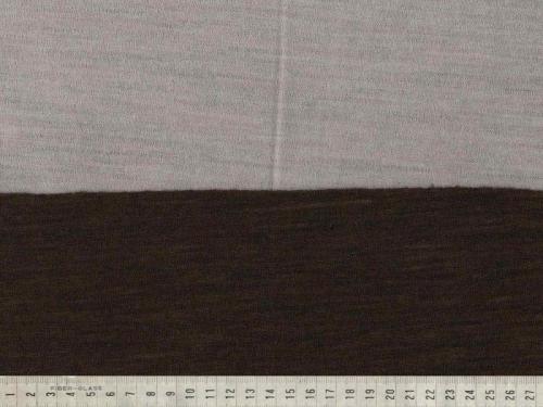 Ull Jacquard brun/beige 170cm
