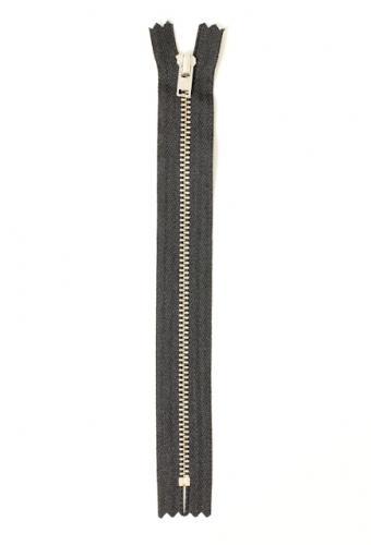 Blixtlås Y220 Jeans/Byxa 4mm silver 12cm