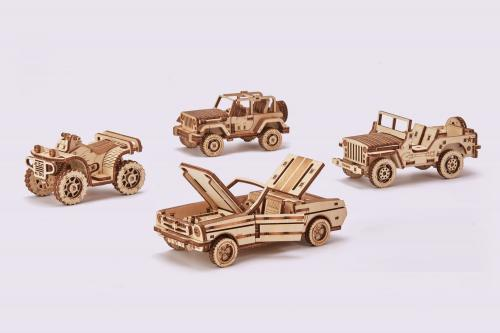 Set of 4 cars