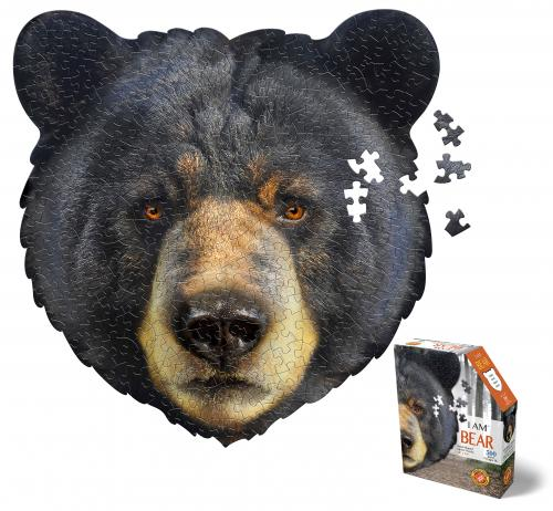 I Am Bear, Head Shape Puzzles 300  bitar
