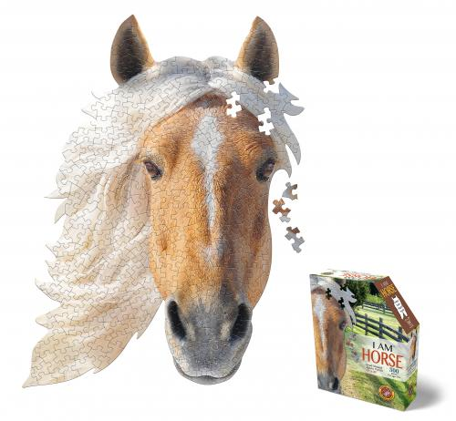 I Am Horse, Head Shape Puzzles 300  bitar