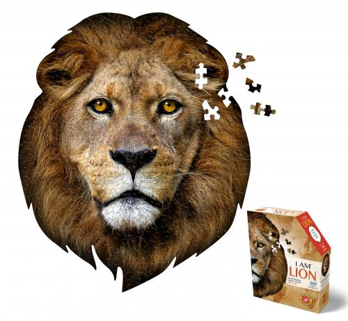 I Am Lion, Head Shape Puzzles 300  bitar