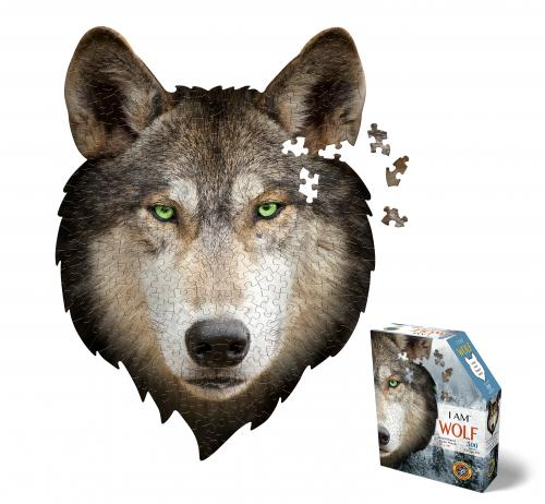 I Am Wolf, Head Shape Puzzles 300  bitar