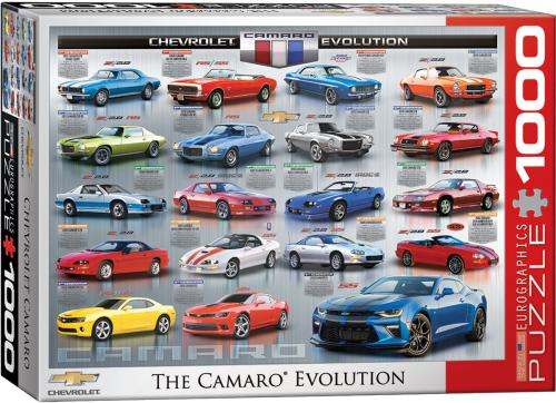 Chevrolet The Camaro Evolution