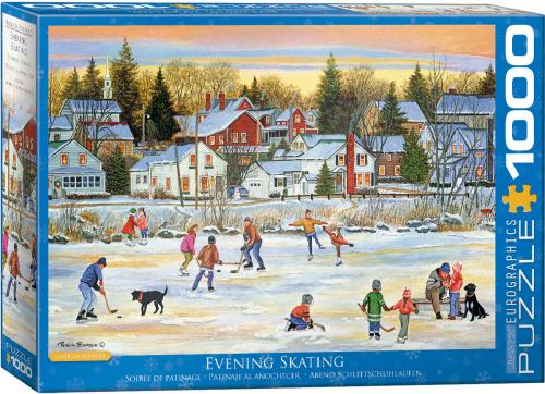 Evening Skating by Bourque