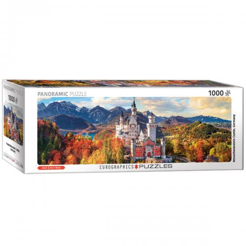 Neuschwanstein in Fall - Pano