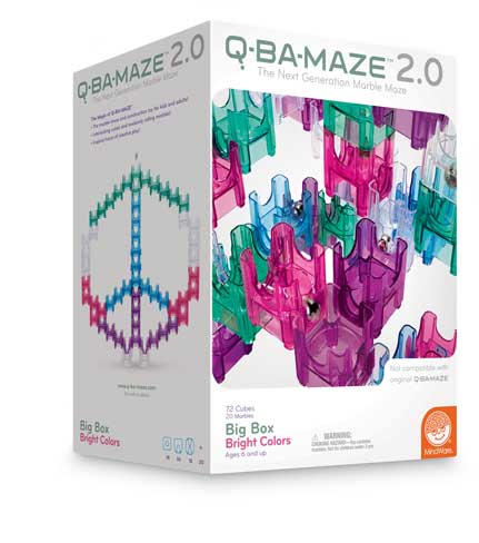 Q-Ba-Maze Big Box Bright Colors