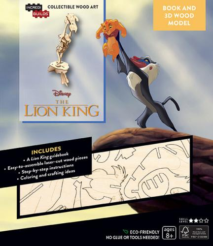Disney: Lion King 3D Wood Model and Book