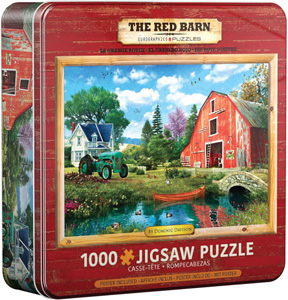 The Red Barn Tin
