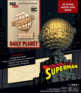 DC Comics: Superman: Daily Planet 3D Wood Model and Book