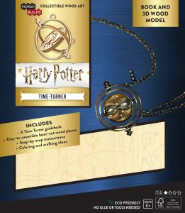 Harry Potter: Time-Turner Book and 3D Wood Model