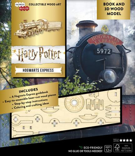 Harry Potter: Hogwarts Express Book and 3D Wood Model