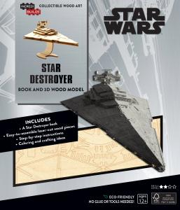 Star Wars: Star Destroyer Book and 3D Wood Model
