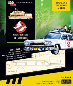 Ghostbusters: Ectomobile Book and 3D Wood Model