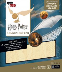Harry Potter: Golden Snitch 3D Wood Model and Booklet
