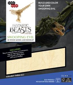 Fantastic Beasts and Where to Find Them: Swooping Evil 3D Wood Model and Booklet