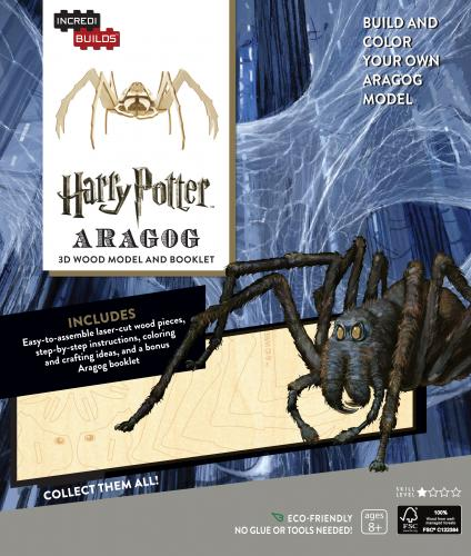 Harry Potter: Aragog 3D Wood Model and Booklet